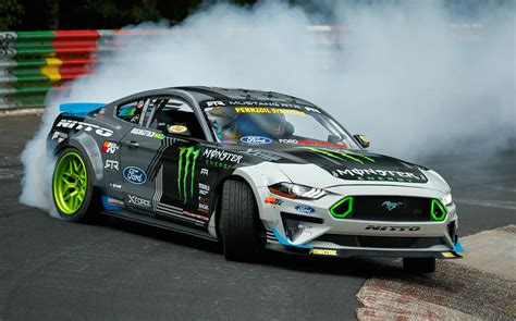 video ford mustang drifts  entire nuerburgring