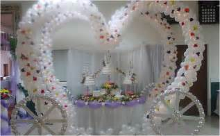 wedding arch pvc pipe decoración de bodas con globos