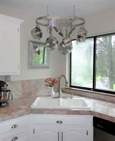 kitchen sink ideas corner kitchen sink design ideas
