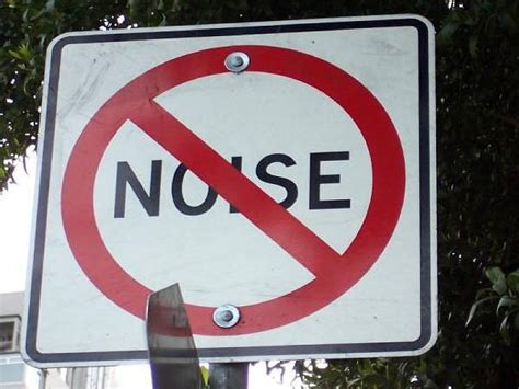 Causes And Effects Of Noise Pollution