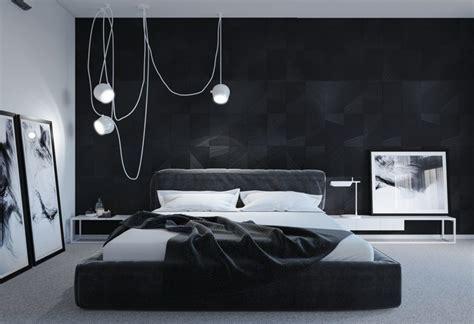 chambre a coucher en noir et blanc noir et blanc 40 chambres à coucher qui font rêver