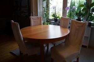 Runder Tisch Ikea : ikea runder esstisch zum ausziehen in blaustein ikea m bel kaufen und verkaufen ber private ~ Frokenaadalensverden.com Haus und Dekorationen