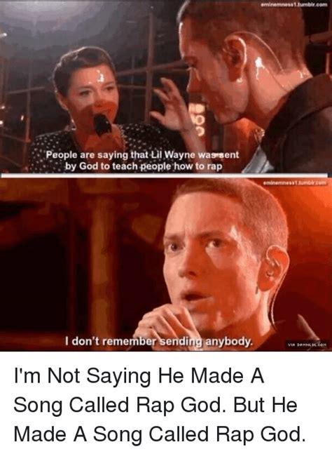 Memes About God - eminem rap god memes www pixshark com images galleries with a bite