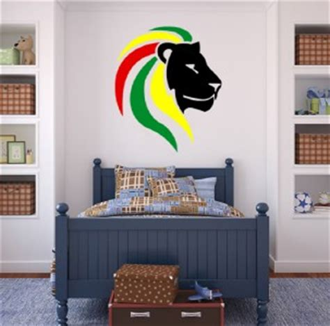 Lion Of Judah Decal Removable Door Wall Sticker Home Decor