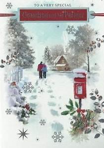 Regent Christmas cards GRANDSON AND PARTNER