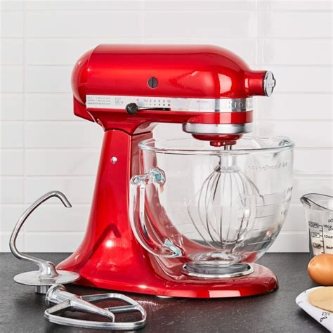 KitchenAid Artisan Design Series Candy Apple Red Stand
