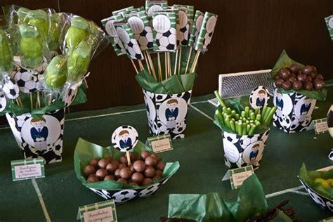 ideas para cumpleanos de hombre ideas de adornos de futbol para cumplea 241 os de ni 241 os centros de