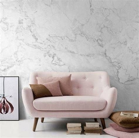 diy ideas  faux marble room wallpaper textured