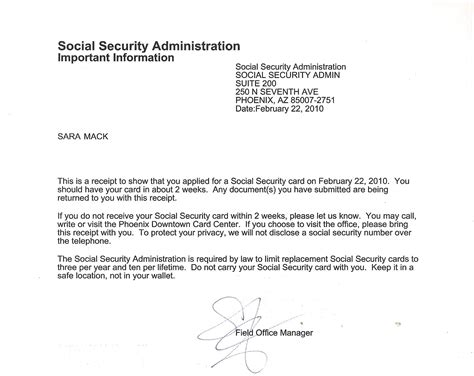 social security letter what s in a name destiny s
