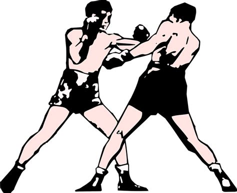 Boxing Fight Perfect Art · Free Vector Graphic On Pixabay