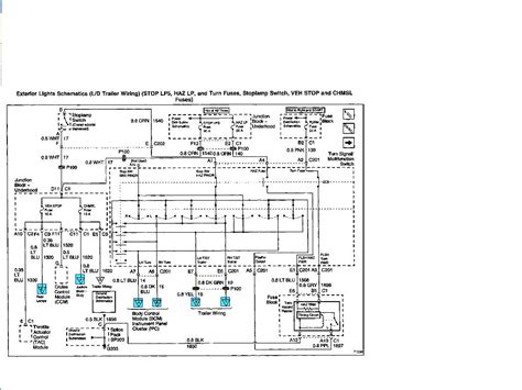 chevy trailer wiring diagram electrical website kanriinfo