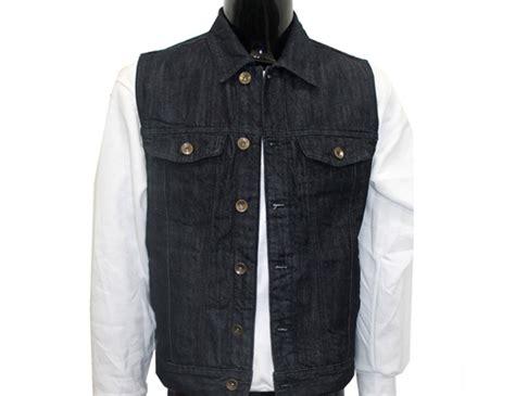 Agile Collection Men's Raw Denim Vest
