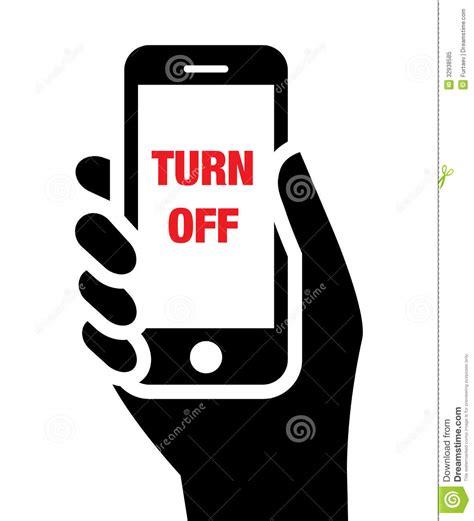 shut phone turn mobile phones icon vector cartoondealer