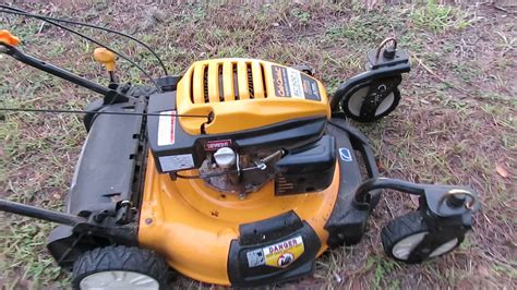 cub cadet sc 500z 12abc6262j709 3n1 mower smokes after 3 hours