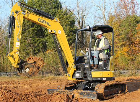 gehl z35 2 compact excavator