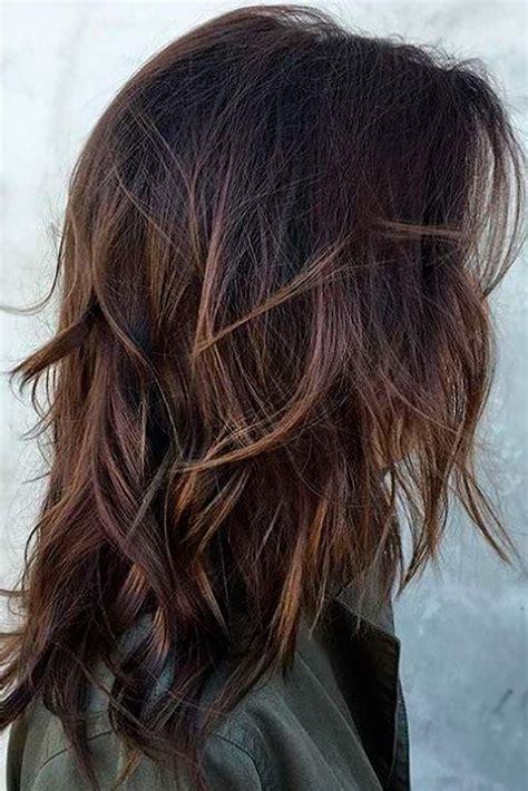 chic medium length layered hair   home