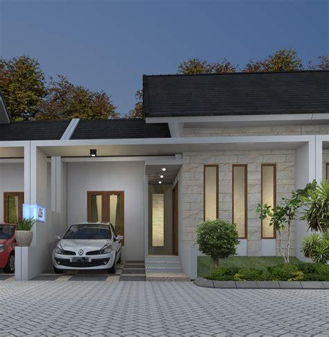 desain rumah type  minimalis  informasi desain