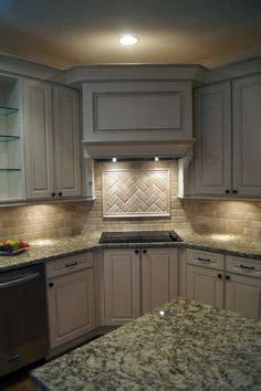 how to do kitchen backsplash putting an electric oven range in the corner at an angle 7245