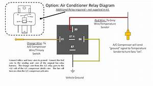 How To Wire Up Cooling Fan Relay