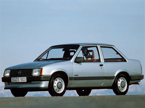 Opel Tr by Opel Corsa Tr Luxus A 1983 85