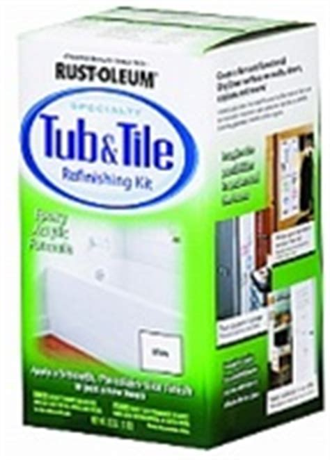 rustoleum tub refinish rust oleum tub tile refinishing kit
