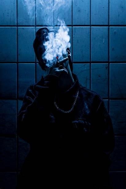 Smoking Smoke Unsplash Boys Dark Wallpapers Salvia