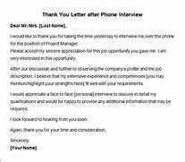 After Second Interview Thank You Letter Samples Thank You Letter After Interview 10 Free Download For Word PDF