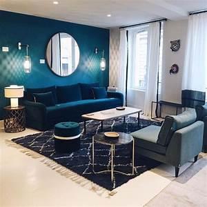 Best Salon Bleu Canard Gallery Awesome Interior Home