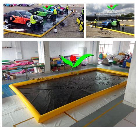 nettoyer tapis de voiture commerciale tapis de voiture facile 224 nettoyer l eau pvc b 226 che gonflable de lavage de voiture