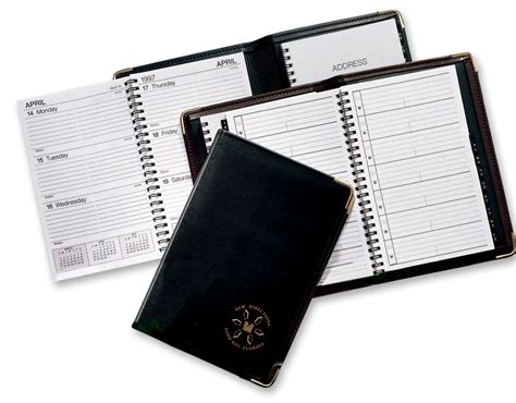 Leather Calendar Covers, Daily Calendars 2015, Weekly And