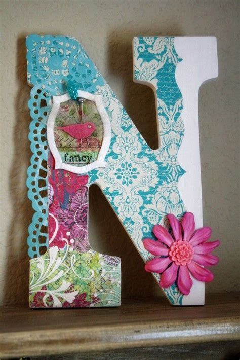 pin  rochelle conyers perales  crafting  wood decorative letters decorative monogram