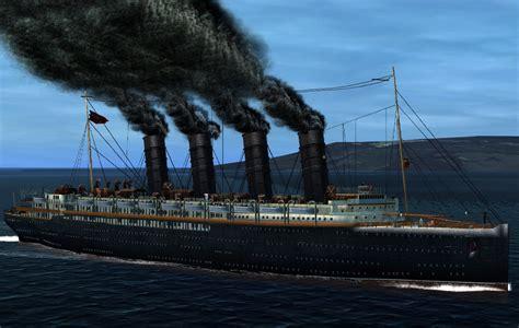 Rms Lusitania Model Sinking by 3dsmax Rms Lusitania
