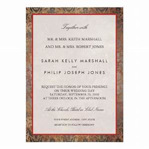 italian wedding invitations announcements zazzle With elegant tuscan wedding invitations