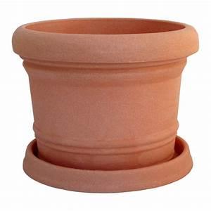 Pflanzkübel Terracotta Eckig : pflanzk bel rund 35 cm terracotta pflanztopf pflanzgef blumenk bel blumentopf kunststoff ~ Orissabook.com Haus und Dekorationen
