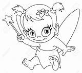 Baby Fairy Coloring Pages Newborn Outlined Vector Bitty Clipart Printable Clip Birth Adult Print Illustration Depositphotos Yayayoyo Getcolorings Popular Books sketch template