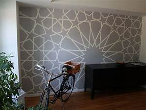 60 things you can decorate with washi tape for What kind of paint to use on kitchen cabinets for washi tape wall art diy