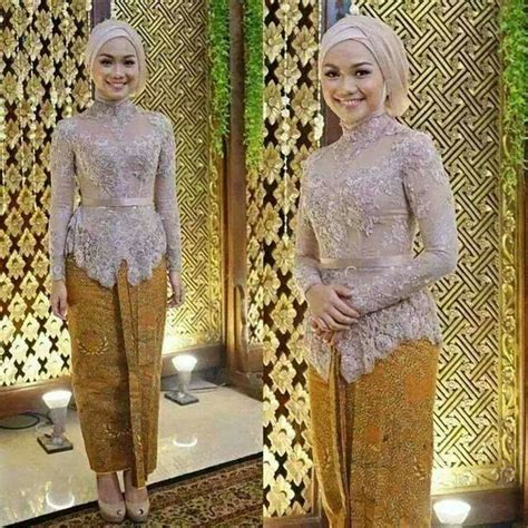 model jilbab wedding makeup pinterest kebaya  models