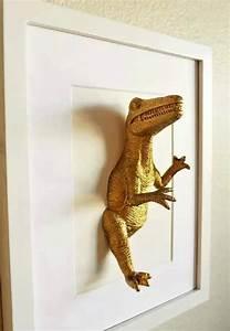 Petit Cadre Deco : relooking dinosaure pour une chambre de petit gar on ~ Teatrodelosmanantiales.com Idées de Décoration