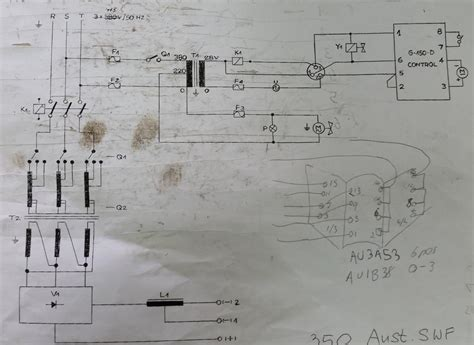 three phase to single phase conversion of an old uni mig 350 using haas k method