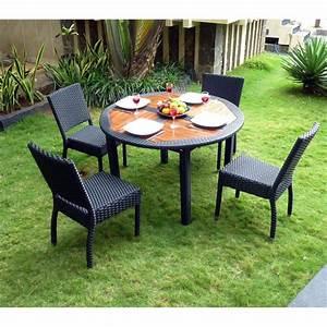 Petite Table De Jardin : ensemble table et chaise de jardin petite table de jardin ~ Dailycaller-alerts.com Idées de Décoration