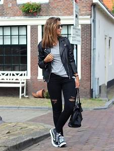 Outfit-vans-sk8-hi-slim-black - a photo on Flickriver | casual outfits | Pinterest | Vans sk8 ...