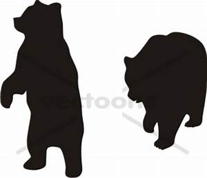 Standing Bear Silhouette   Clipart Panda - Free Clipart Images