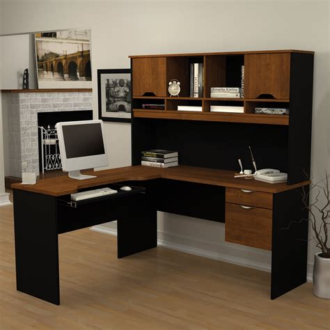 sauder traditional l shaped desk with hutch hostgarcia
