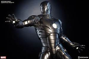 Marvel Iron Man Mark II Quarter Scale Maquette by Sideshow ...