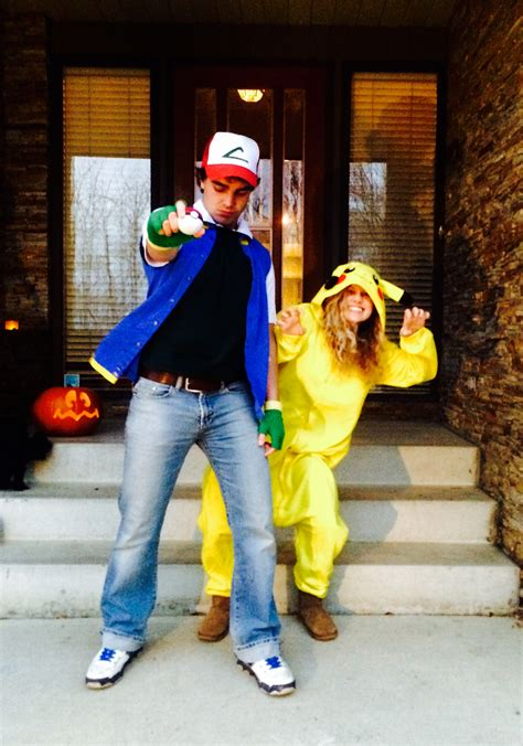 Ash Ketchum And Pokemon Group Halloween Costumes