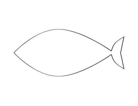 fish template   printable  documents