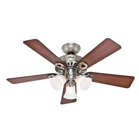 shop ridgefield 5 minute fan 44 in brushed nickel