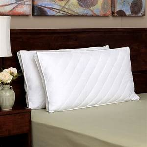 Eddie bauer quilted king size hypoallergenic down for Best king size down pillows