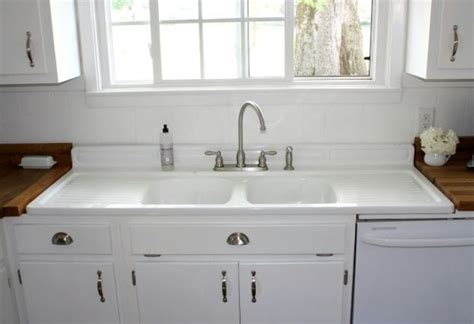 retro kitchen sink with drainboard vintage kitchen sink with drainboard antique kitchen 7780