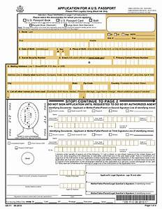 ds 11 passport application 2016 2017 With what documents for us passport